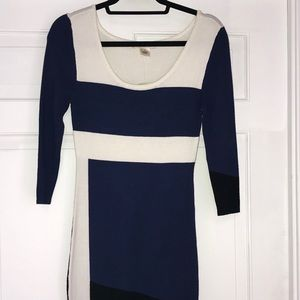 NWT ARDEN B Career Color Block Dress, size S